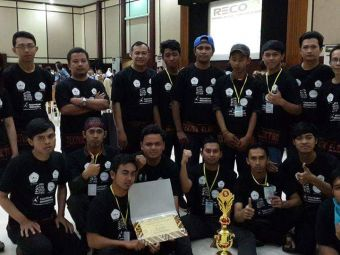 ST-INTEN ROBOTIC TEAM (ROBIN) keluar sebagai Juara 3 Line Follower Analog dan Spesial Award Maze Sov